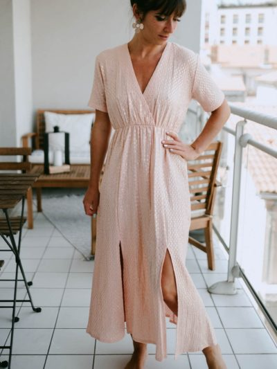 Robe FAUSTINE Nude