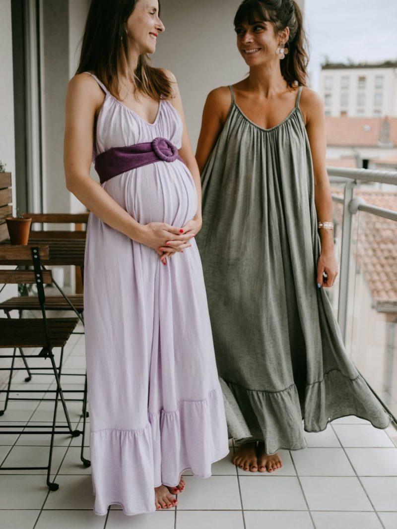 Robe longue wavy futures mamans