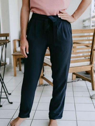 Pantalon AUGUSTE Marine