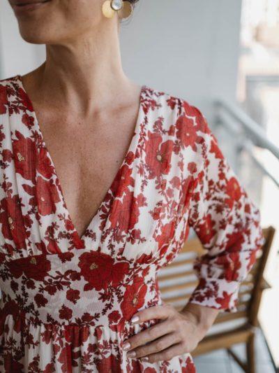 Robe SARA – Rouge