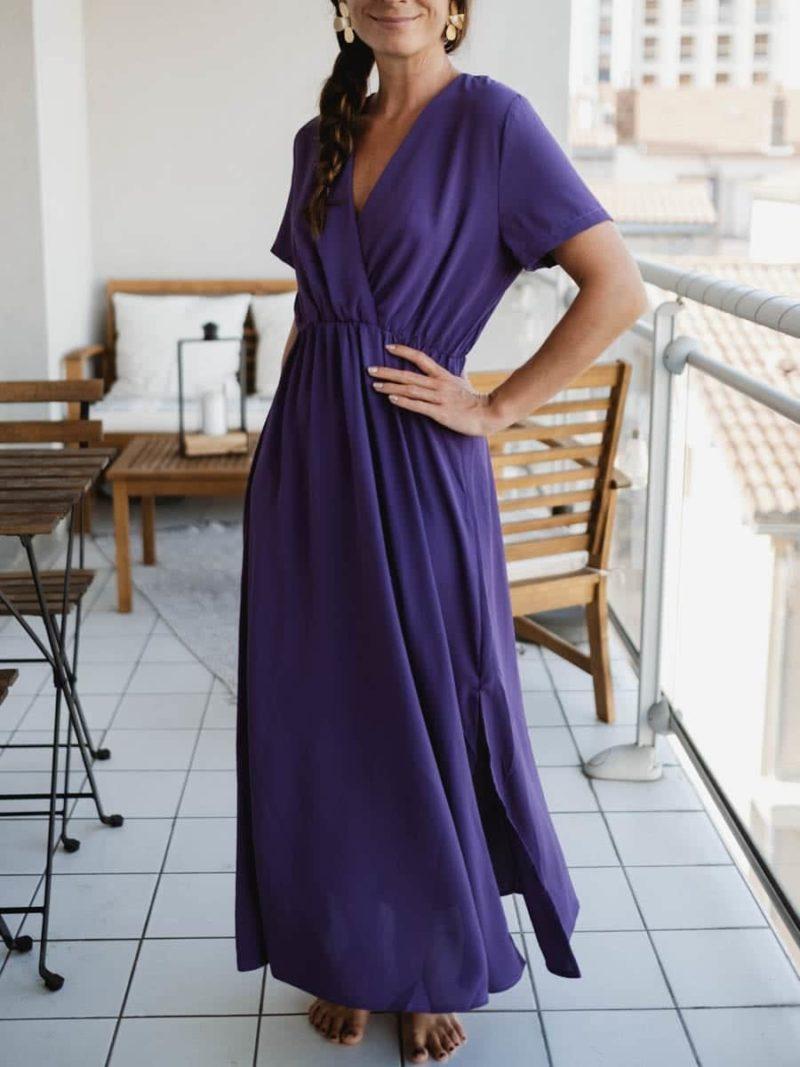 Robe violaine