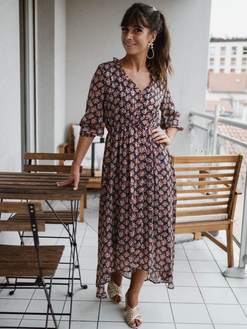 robe september asymétrique