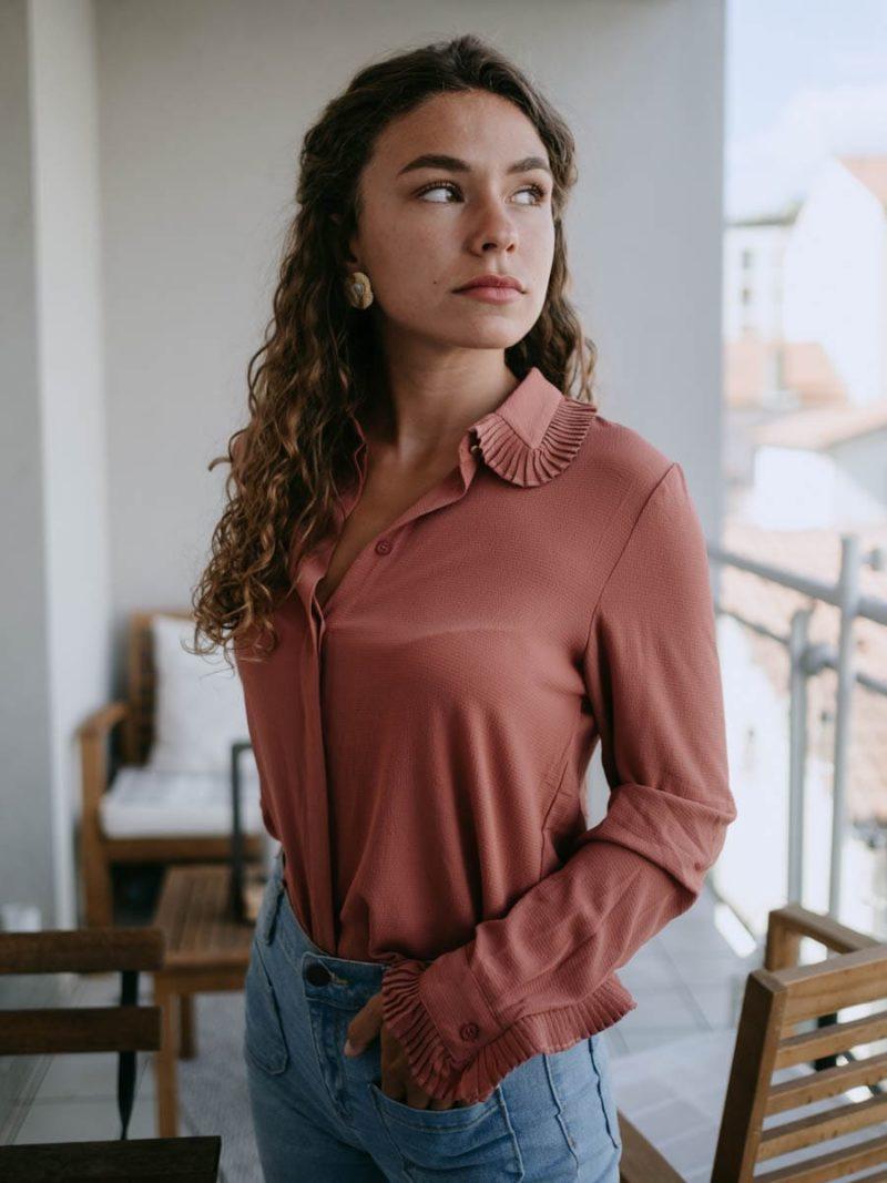 chemise apolline rose