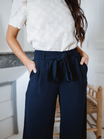 Pantalon PABLO Marine