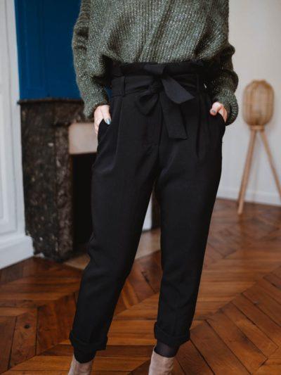 Pantalon AUGUSTE Noire
