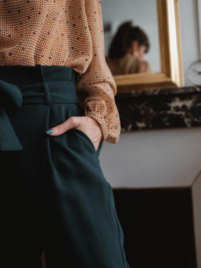 Pantalon AUGUSTE Vert