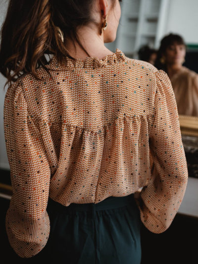 Blouse LAURA Camel