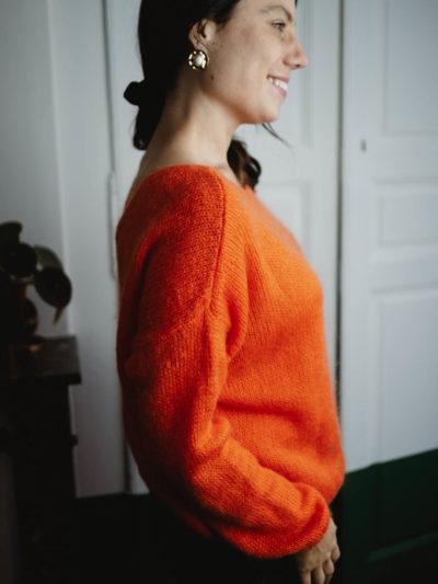 Gilet FOLK Orange