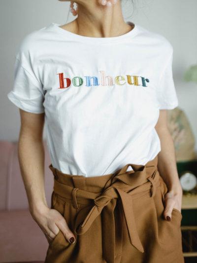 T-shirt BONHEUR