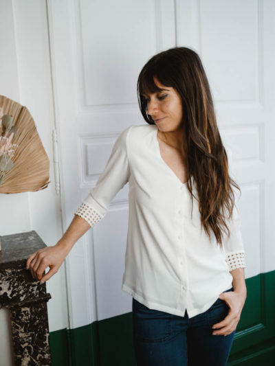 Blouse MANON Blanc