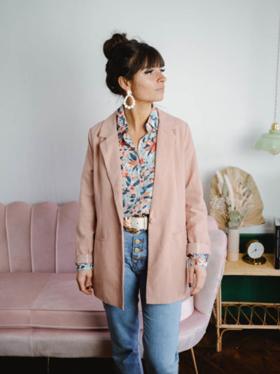 Veste APRIL rose