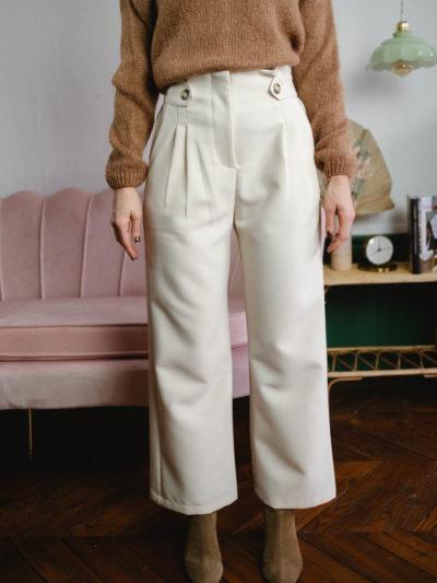 Pantalon ACHILLE Beige