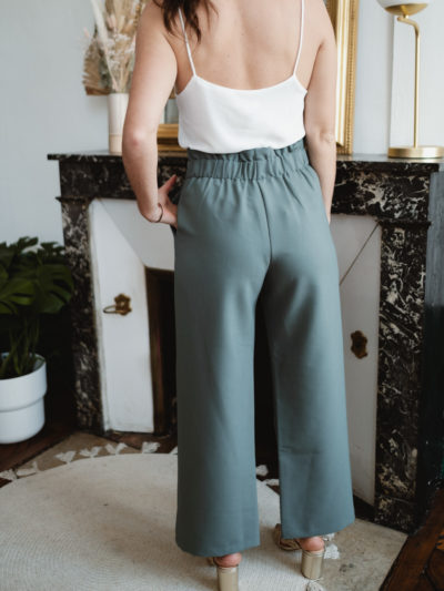 Pantalon ACHILLE Céladon