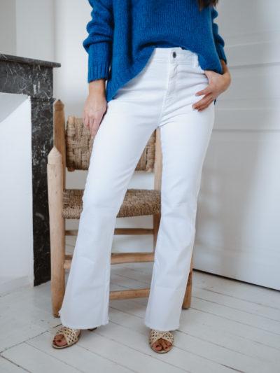 Pantalon Léon Blanc