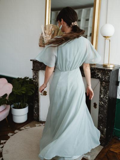 Robe FELICIE longue Verte