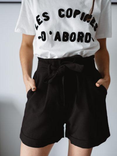 Short ALEX Noire