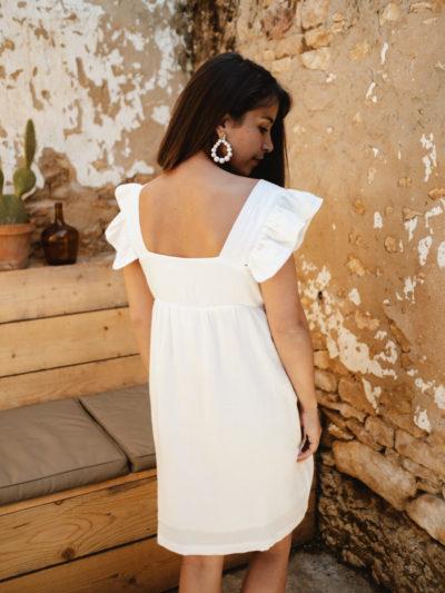 Robe ASSIA blanc