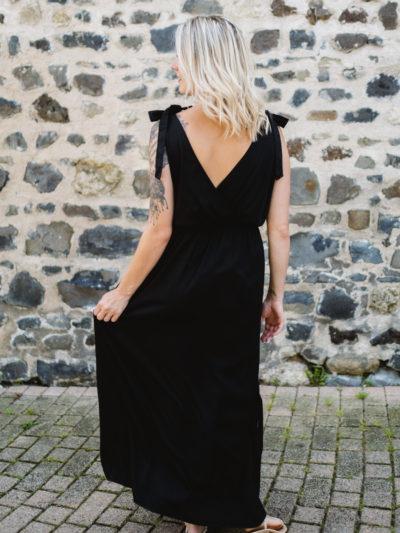 Robe CLOÉFA Noire