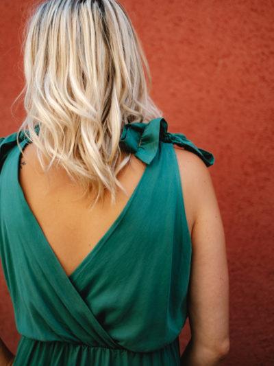 Robe CLOÉFA Vert