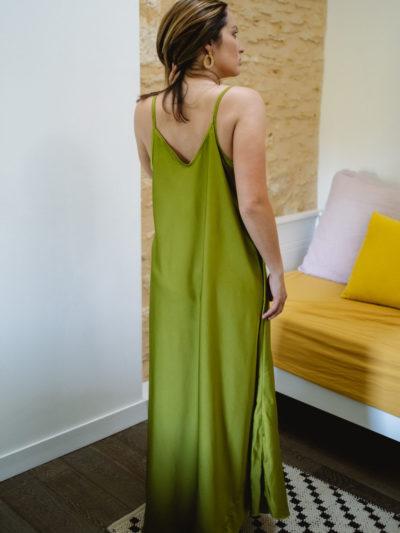 Robe AMALIA Vert
