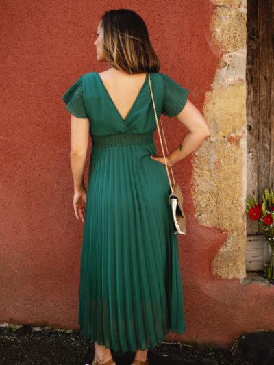 Robe ÉLINA Vert