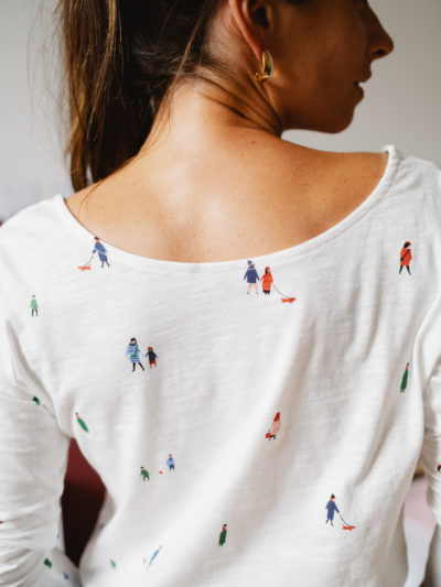 T-shirt PEOPLE manches longues