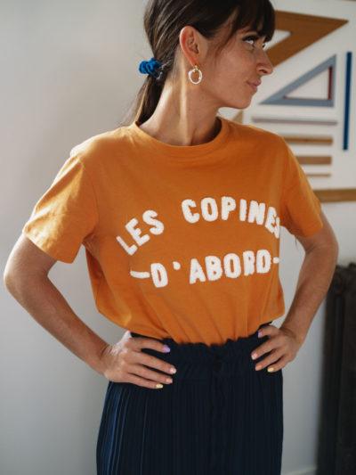 T-shirt FRIENDS camel