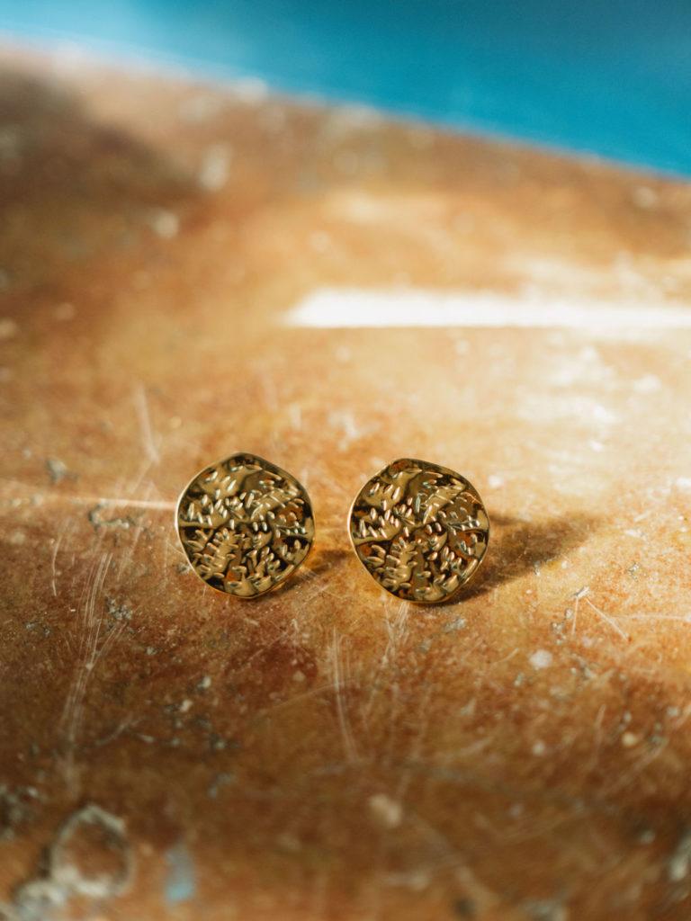 boucles-d-oreilles-bijoux-doré-acier-inoxydable