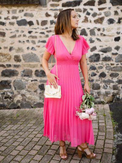 Robe ÉLINA rose