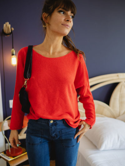 Pull SUMMER Rouge