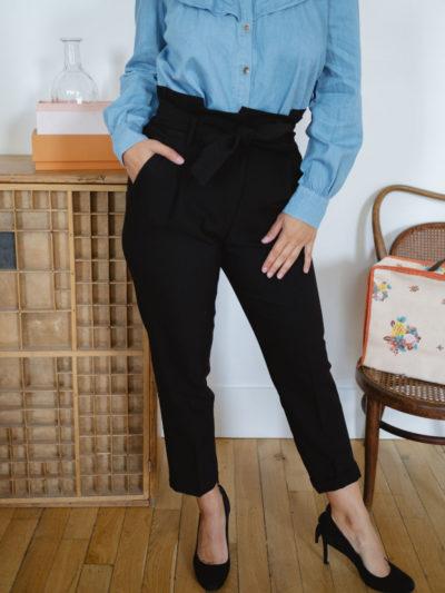 Pantalon ALEX Noire