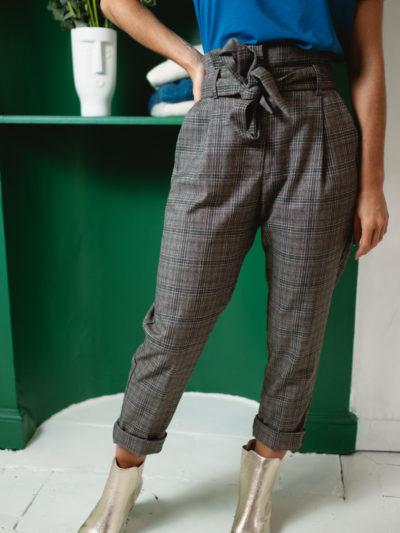 Pantalon ALEX Carreau